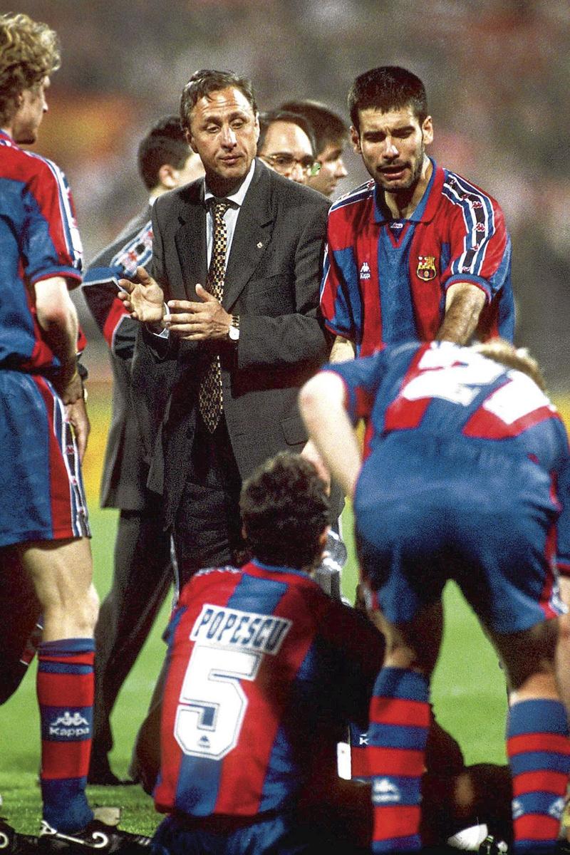 Johan Cruijff a changé le foot. Même au FC Barcelone., getty