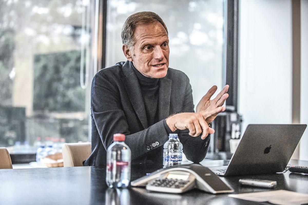 """Peter Bossaert :  """" Le profil du futur directeur technique dépendra de l'issue des négociations menées avec Martínez. """", KOEN BAUTERS"""