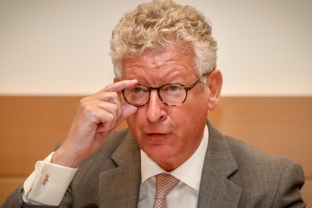 Pieter De Crem (CD&V) op 11 augustus 2020., Belga