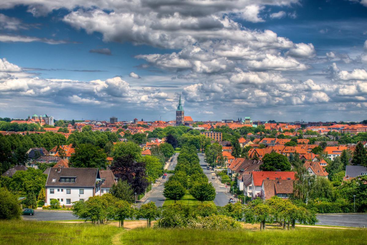 Panorama Mittelallee in Hildesheim, Hildesheim Marketing - Daniel Fröbrich