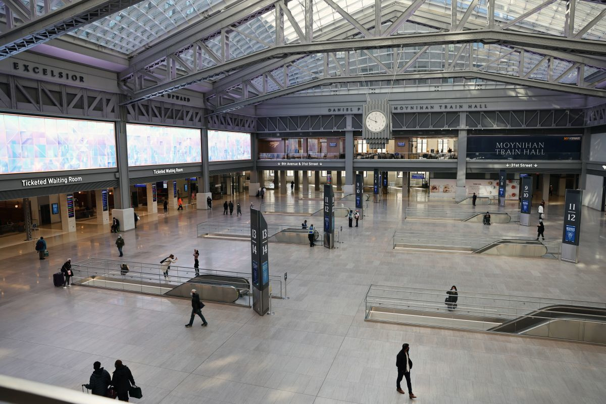 Moynihan Train Hall, Getty Images