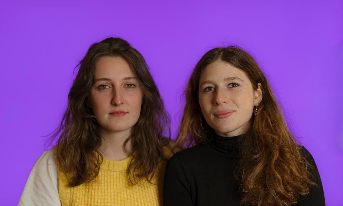 Juliette Lenrouilly et Léa Taieb