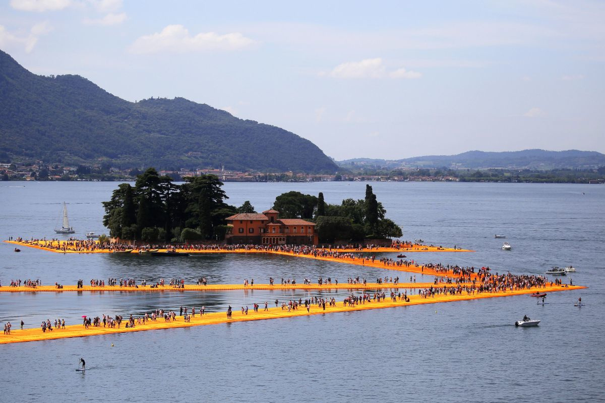 The Floating Piers, Getty Images