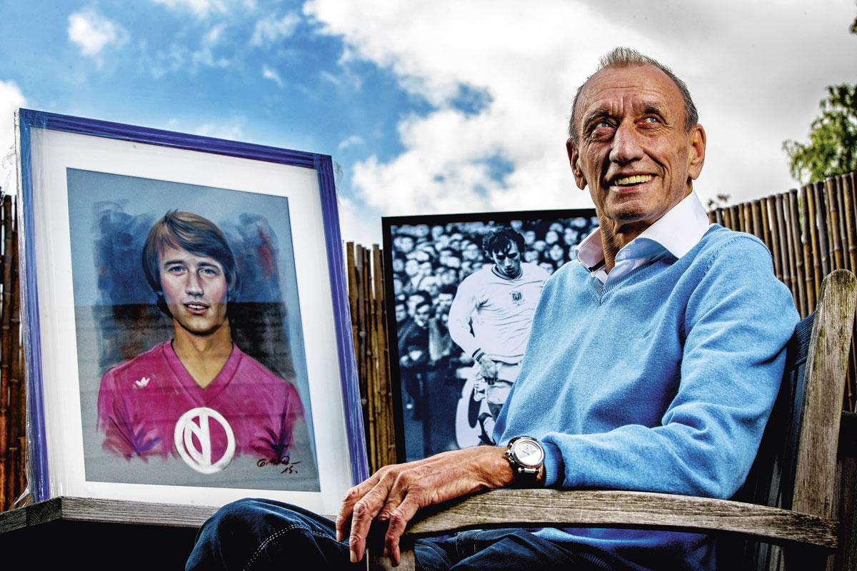 Robbie Rensenbrink in 2017. De ex-speler van Club Brugge en Anderlecht overleed vorige vrijdag aan de gevolgen van een spierziekte., belgaimage