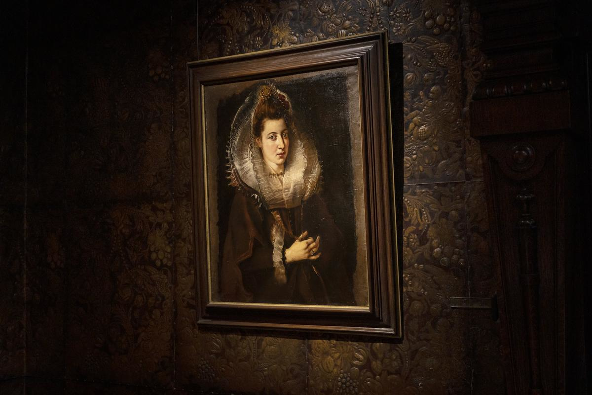 Portret van een jonge vrouw, Museum of Fine Art, foto Ans Brys