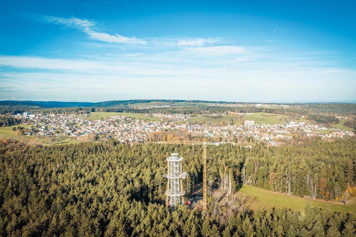 La nouvelle tour d'observation Himmelsglück., SDP
