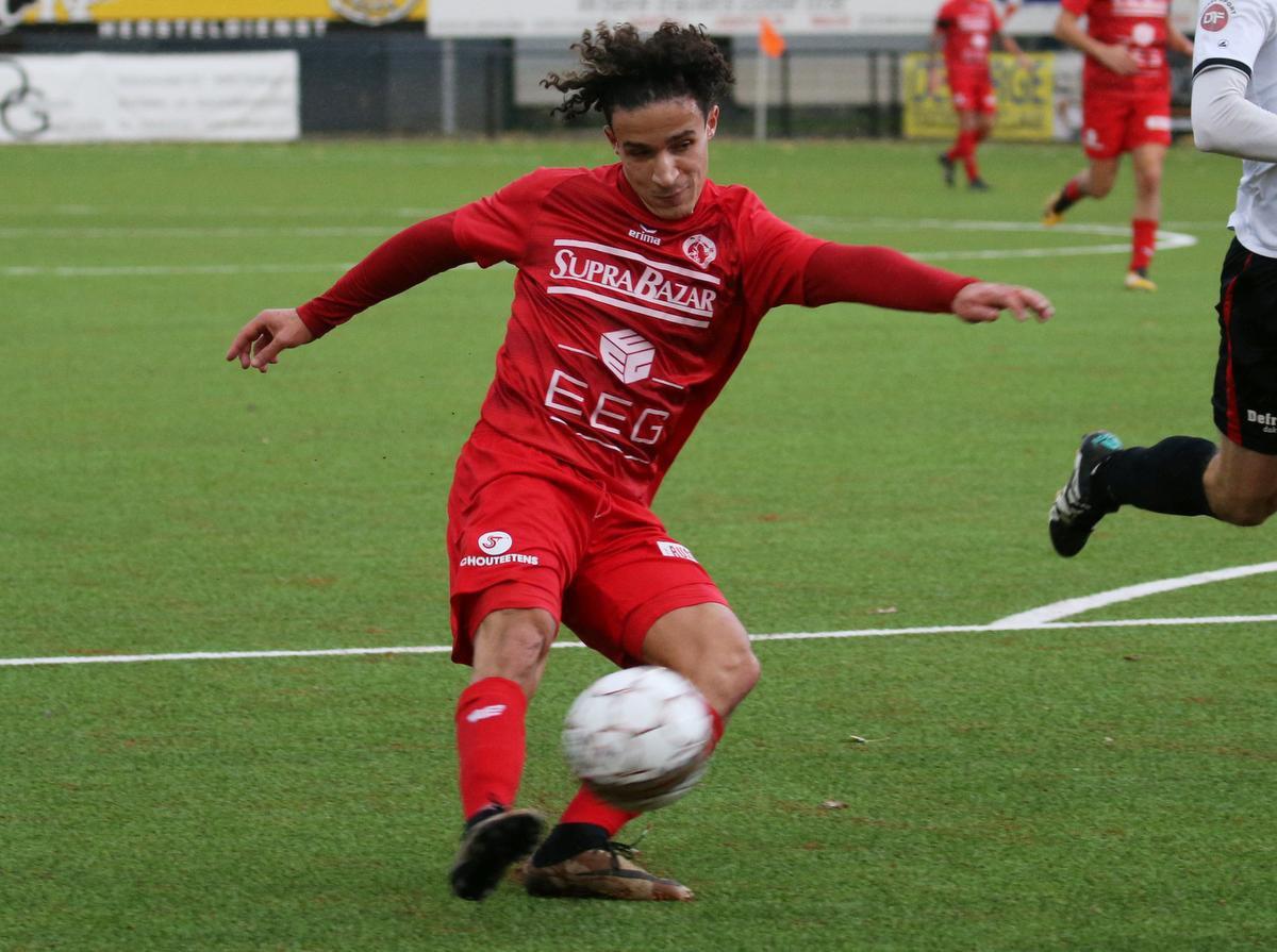 Nagim Amini speelde nog bij FC Gullegem, nu is hij aan de slag bij KVK Westhoek., VDB