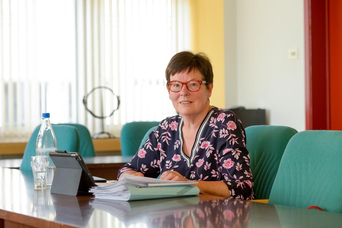 Burgemeester Carine Dewaele van Lendelede., Frank Meurisse