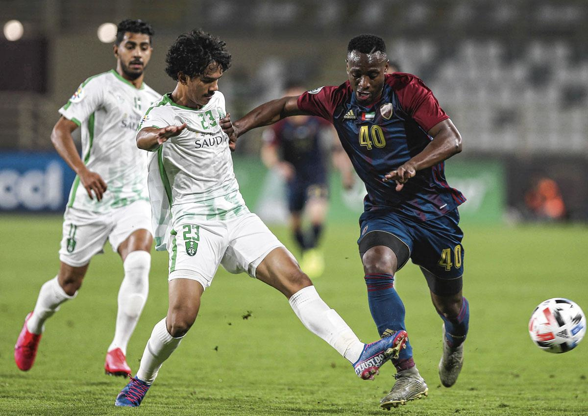 Depuis son arrivée aux Émirats, Mpoku a inscrit deux buts en neuf rencontres., BELGAIMAGE