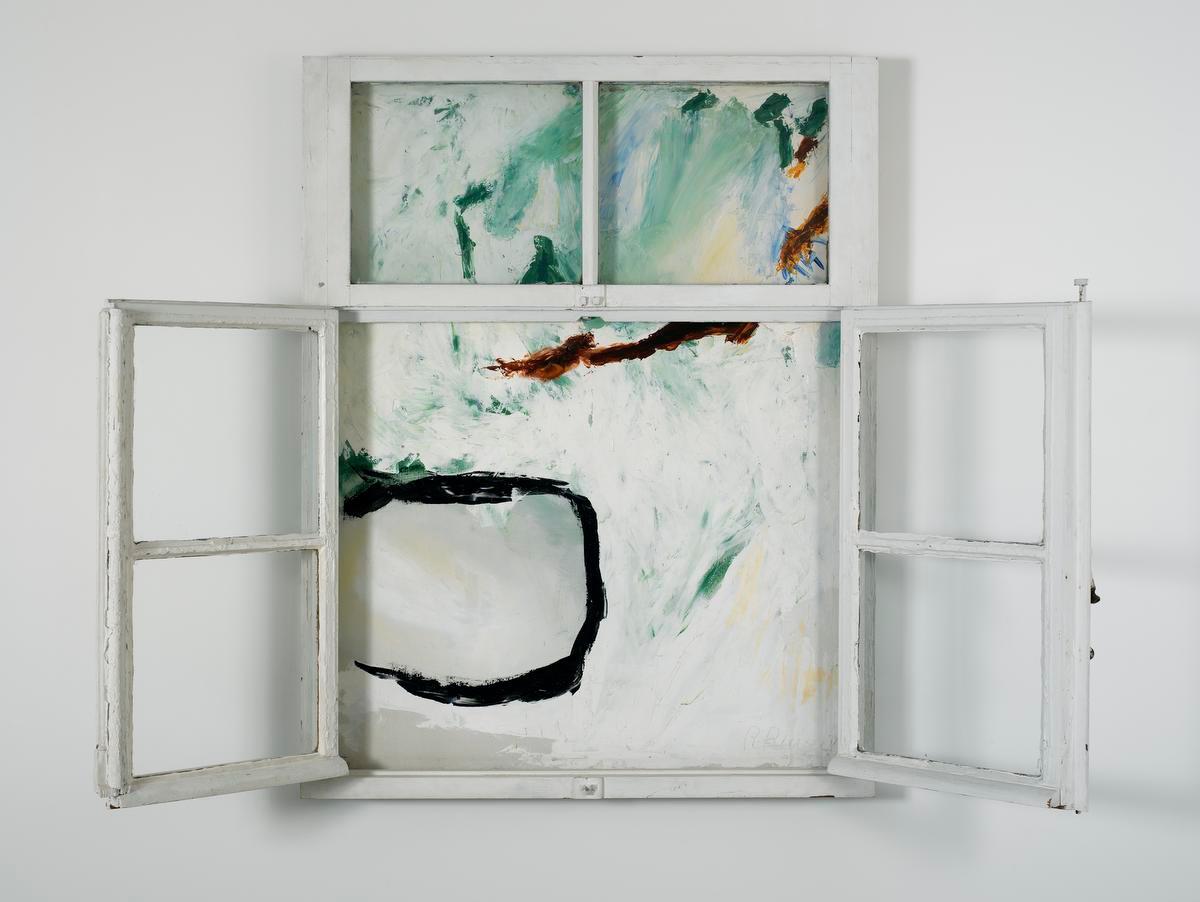 Roger Raveel, Het venster, 1962, Particuliere verzameling/Roger Raveel Museum, Raveel - MDM. Foto: Peter Claeys