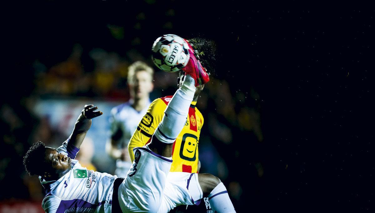 Jérémy Doku a précipité la défaite d'Anderlecht à Malines suite à on exclusion., BELGAIMAGE