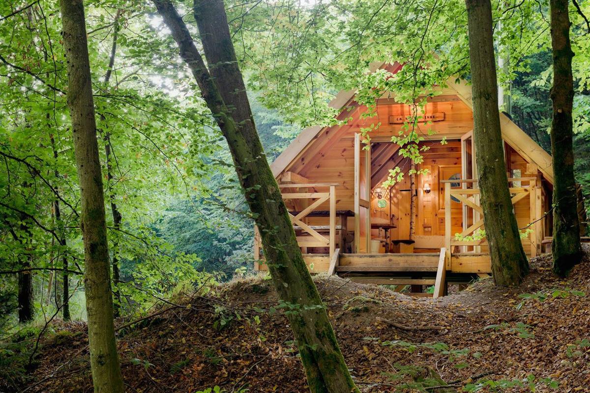 Les Cabanes de Rensiwez in Houffalize., Les Cabanes de Rensiwez
