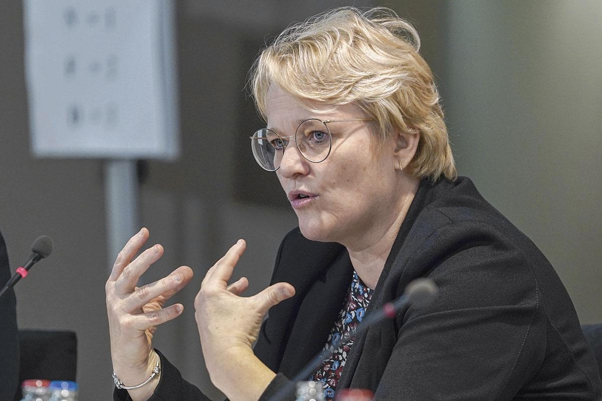 Nathalie Muylle, ministre de l'Economie et des Consommateurs., BELGAIMAGE