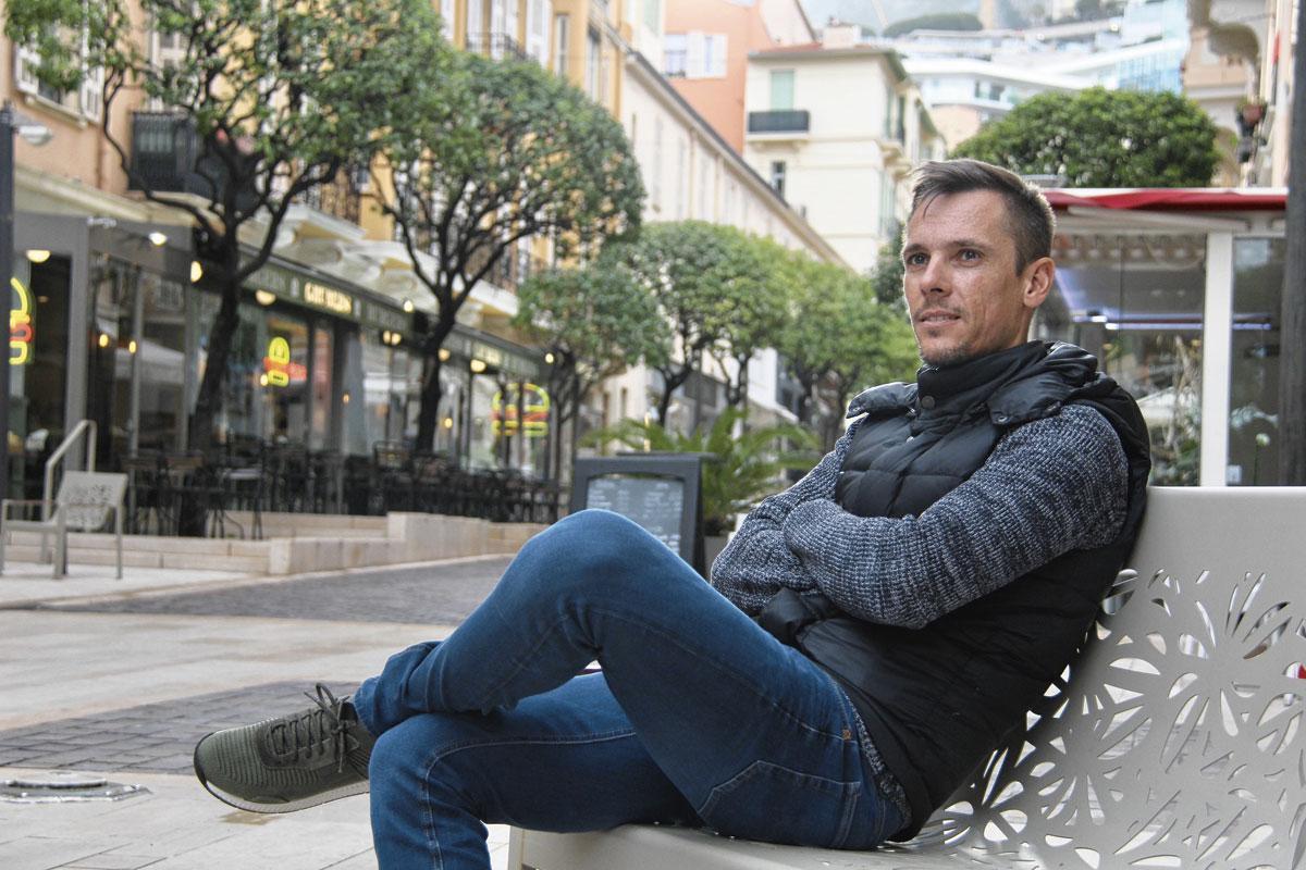 Philippe Gilbert in Monaco: 'Ik hoop dat ik snel een sportieve kalender heb.', BELGAIMAGE