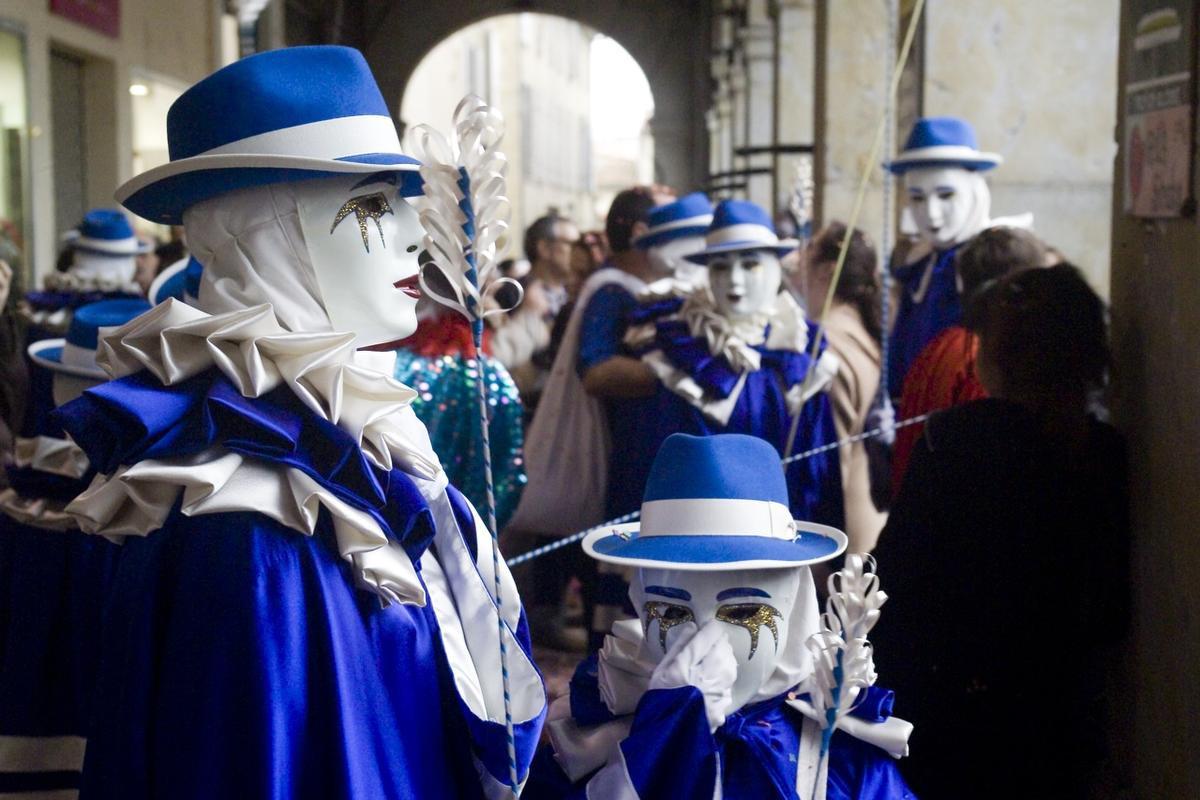 Une bande du carnaval de Limoux, tagon (CC BY 2.0)