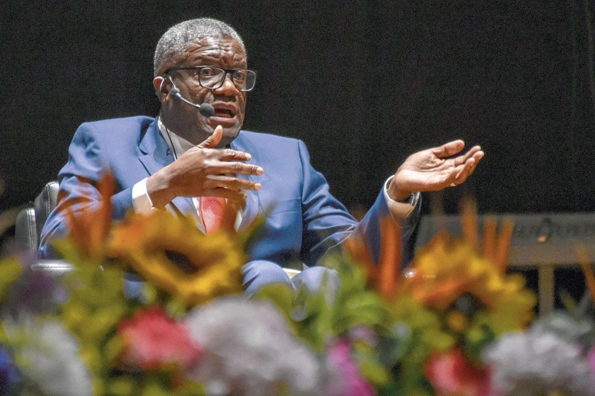 "Denis Mukwege, inspirant inclusif, "" incarnation de l'empathie ""., GUILLERMO LEGARIA SCHWEIZER/GETTY IMAGES"