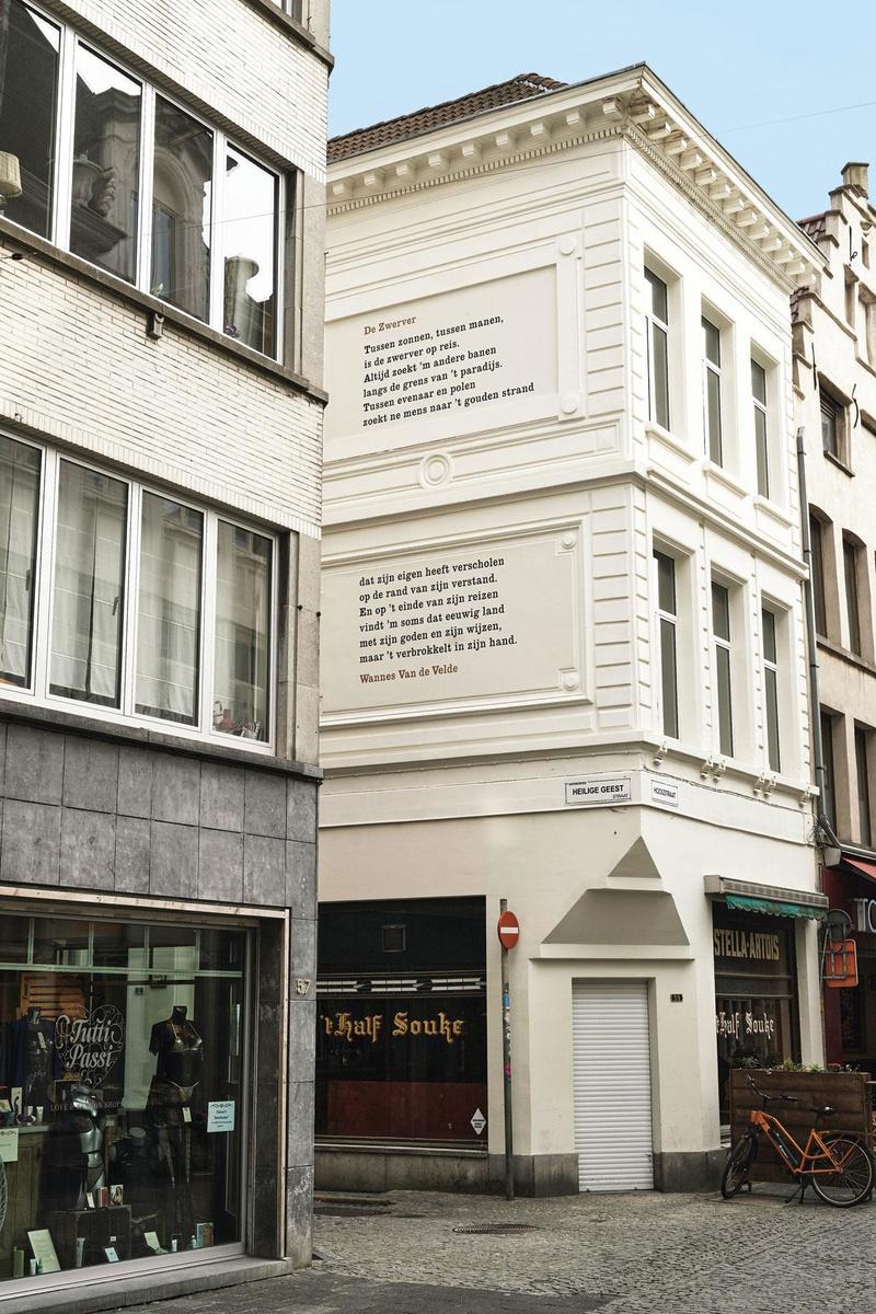 La poésie sur les murs, JORIS CASAER
