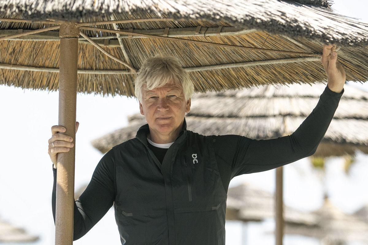 Marc Brys in Cyprus: 'Van nature ben ik helemaal geen jobhopper. Door omstandigheden is het zo uitgedraaid.', belgaimage
