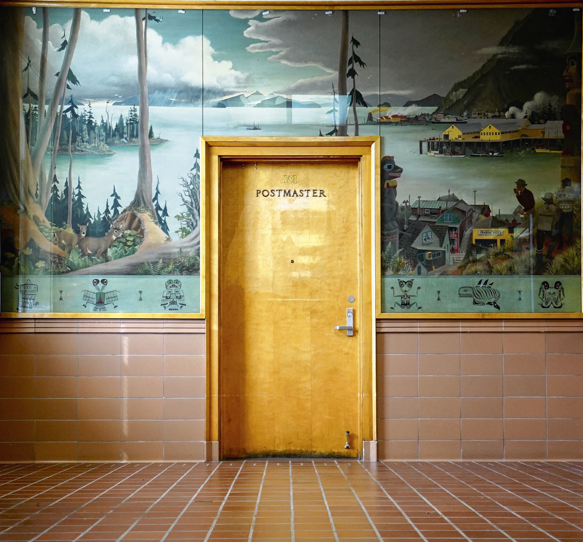 Un bureau de poste à Wrangell, en Alaska., SDP/ ACCIDENTALLYWESANDERSON
