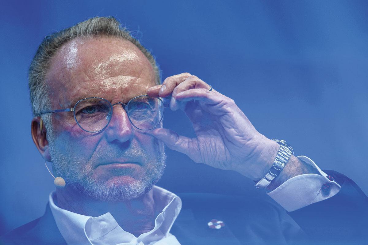 Karl-Heinz Rummenigge, le président du Bayern., BELGAIMAGE