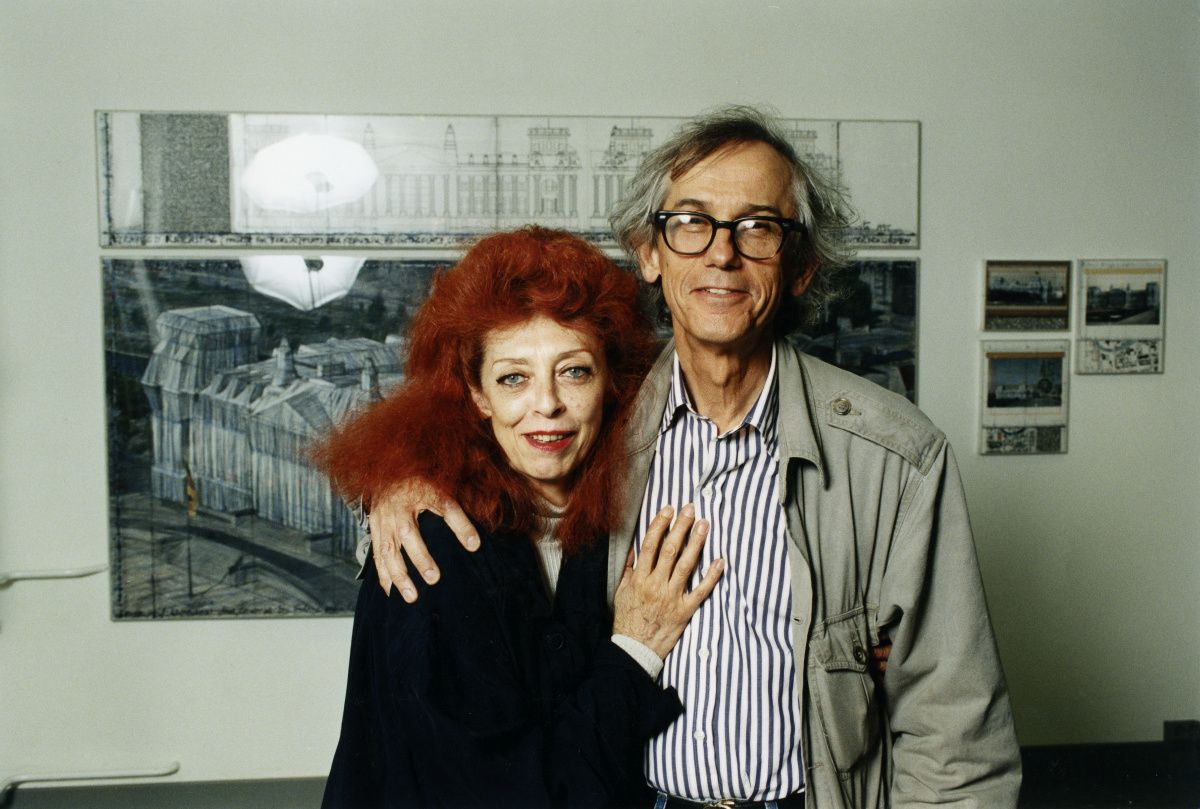 Christo en Jeanne-Claude, Getty Images