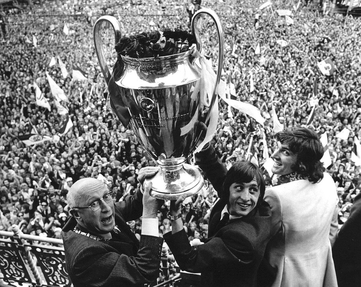 L'Ajax remporte sa première CE1 face au Panathinaikos en 1971 : 2-0., getty