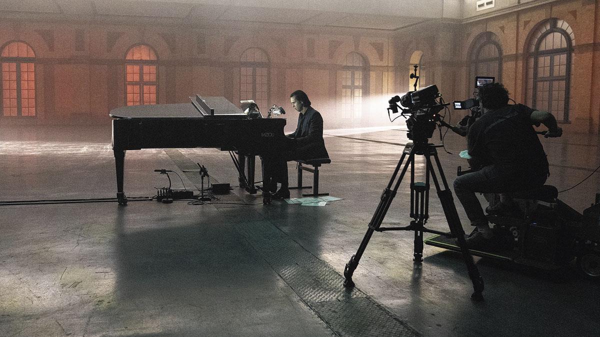 Nick Cave à l'Alexandra Palace: le livestream fonctionne d'abord pour les gros poissons.
