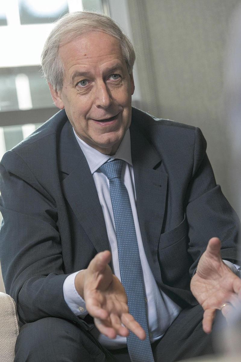 "Pierre Gustin (ING): ""Le banquier analysera la situation et accordera en principe un supplément de crédit."", belgaimage"