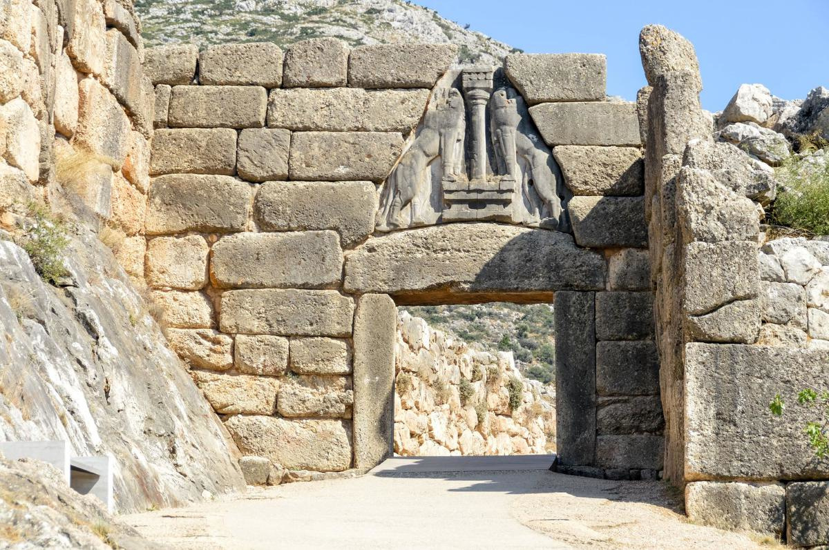 Lion Gate at Mycenae, Gettyimages