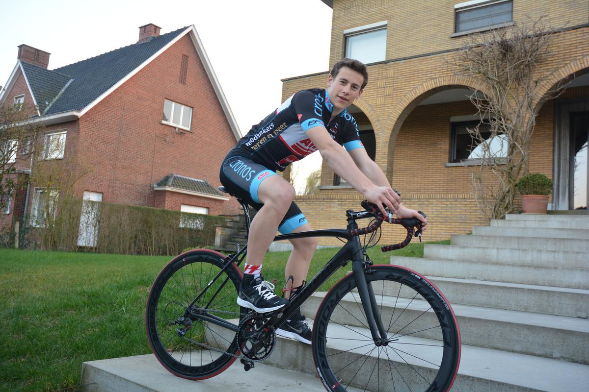 Broer Loïc Segaert was ook een beloftevolle renner., foto CLY