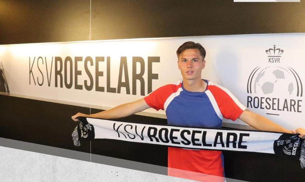 Doore trainde al de hele voorbereiding mee in Roeselare., (Foto KSV Roeselare)