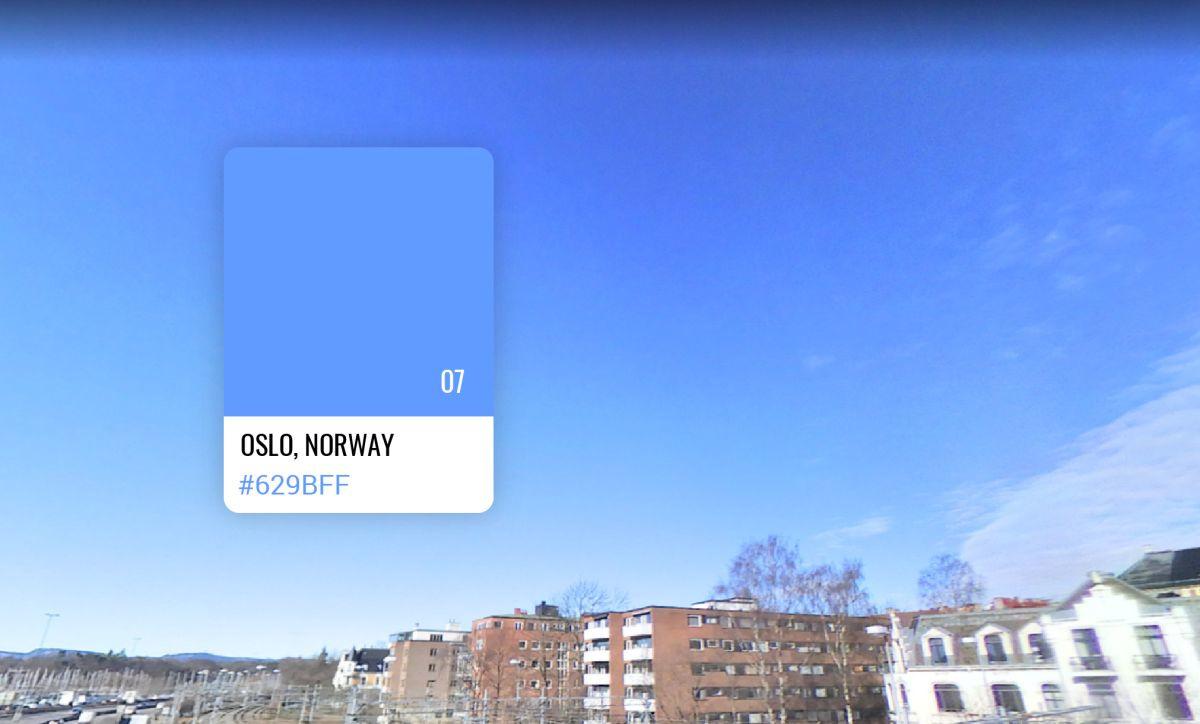 7. Oslo in Noorwegen, S Money
