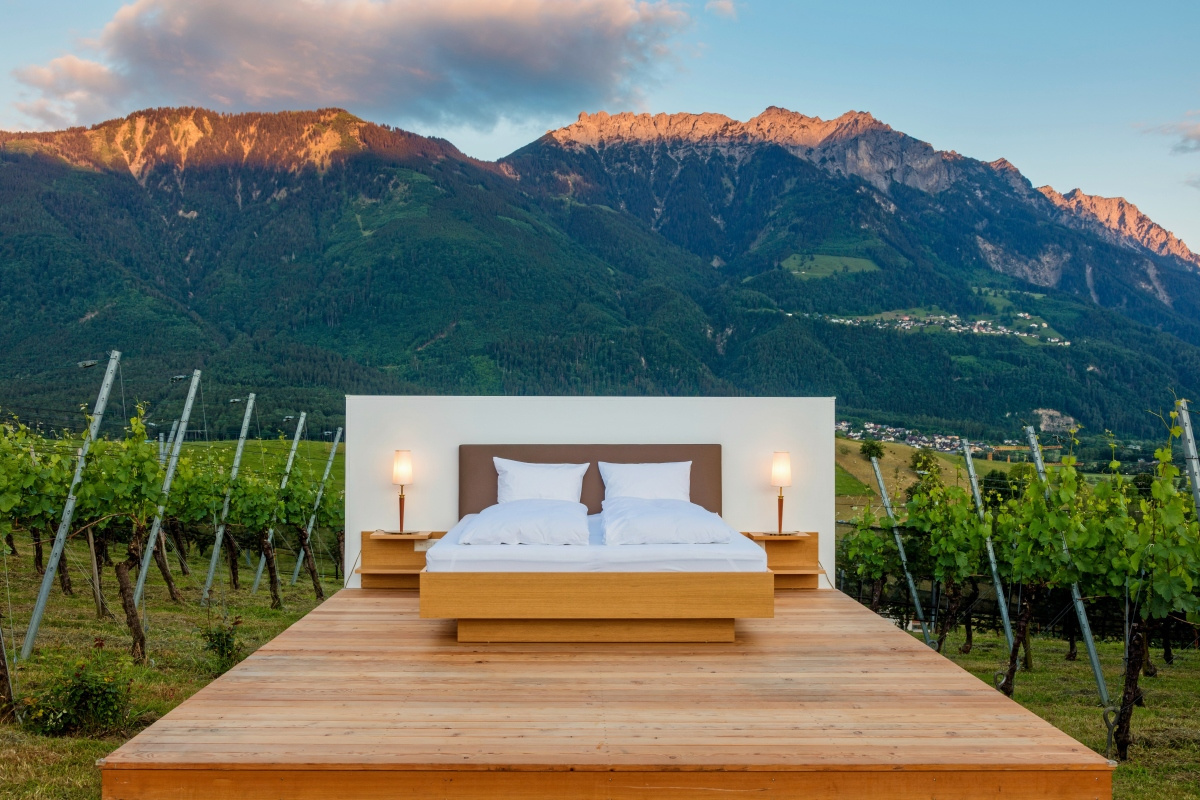 Fürsten Suite in Liechtenstein, Paul Trummer Liechtenstein Tourism Switzerland 2020