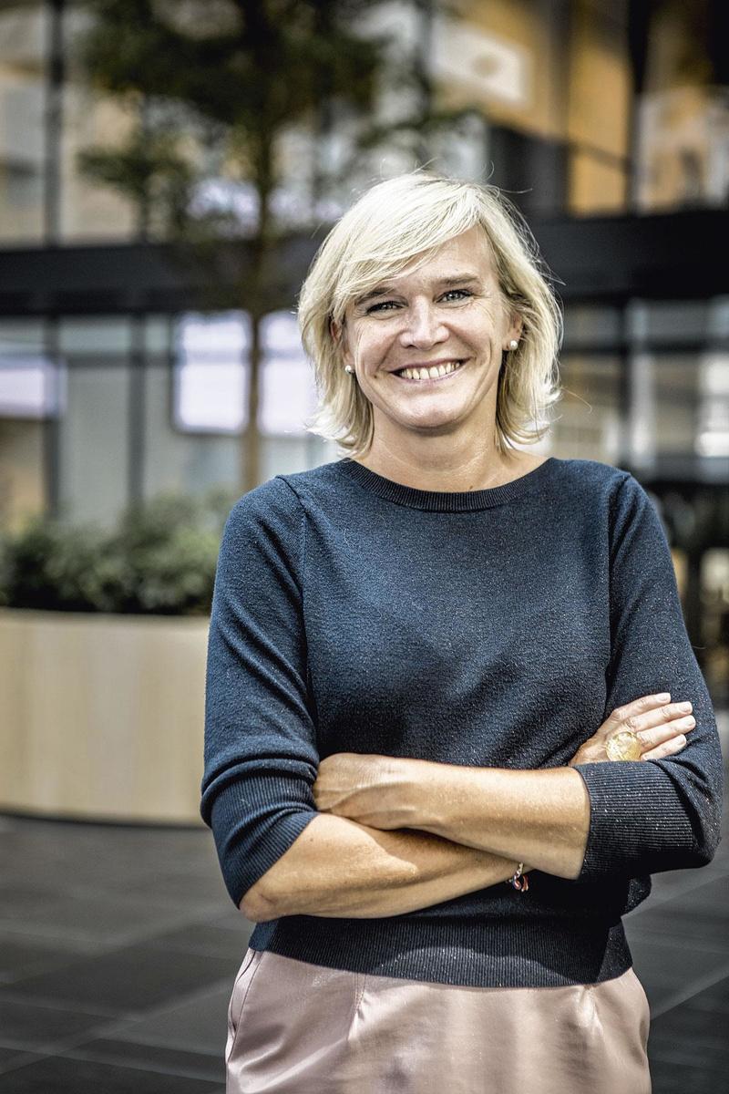 """Inge Diels (Deloitte Belgique): """"Chaque travailleur qui souhaite télétravailler est invité à dialoguer avec son responsable."""", PG"""