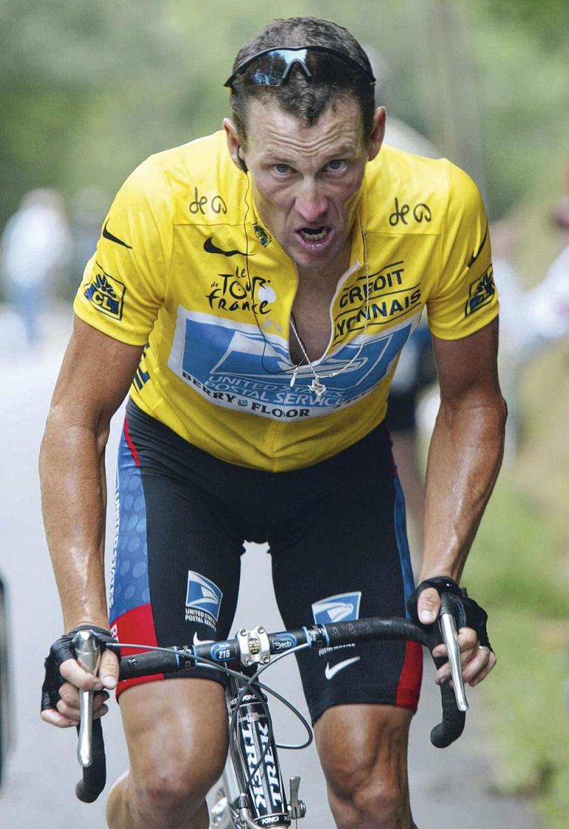 Lance Armstrong, INGE KINNET