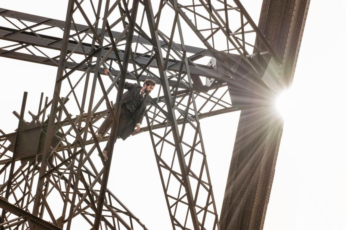 Eiffel haranguant ses ouvriers face à la fronde populaire., Antonin Menichetti