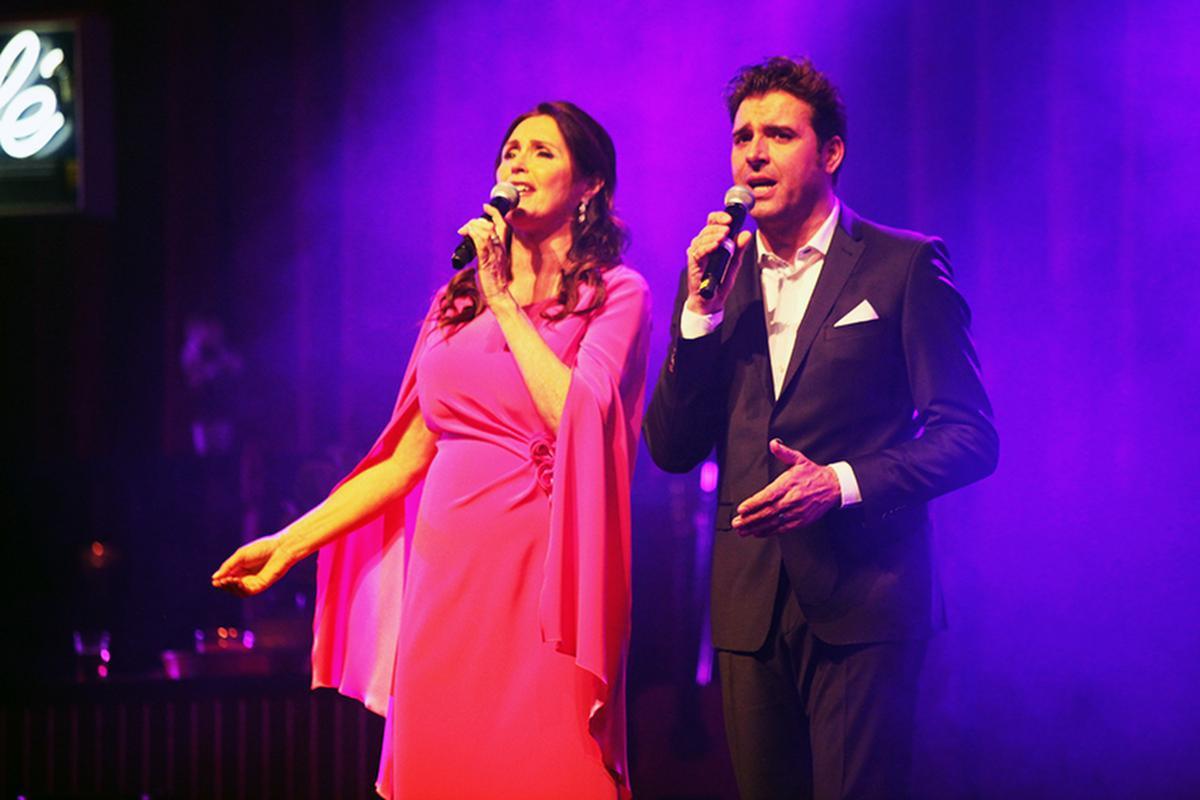 Wendy Van Wanten in duet met Jan Wuytens., PADI/Daniël