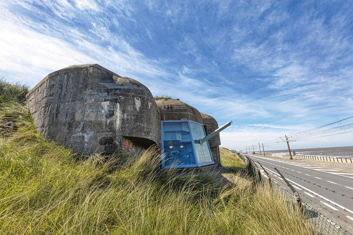 De Atlantik Wall in Raversijde, JAN D'HONDT ATELJE