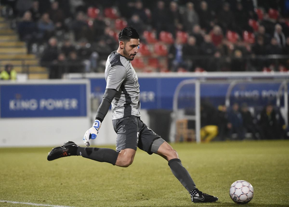 Rafael Romo, in 2018 nog met Beerschot in actie tégen OH Leuven., BELGA