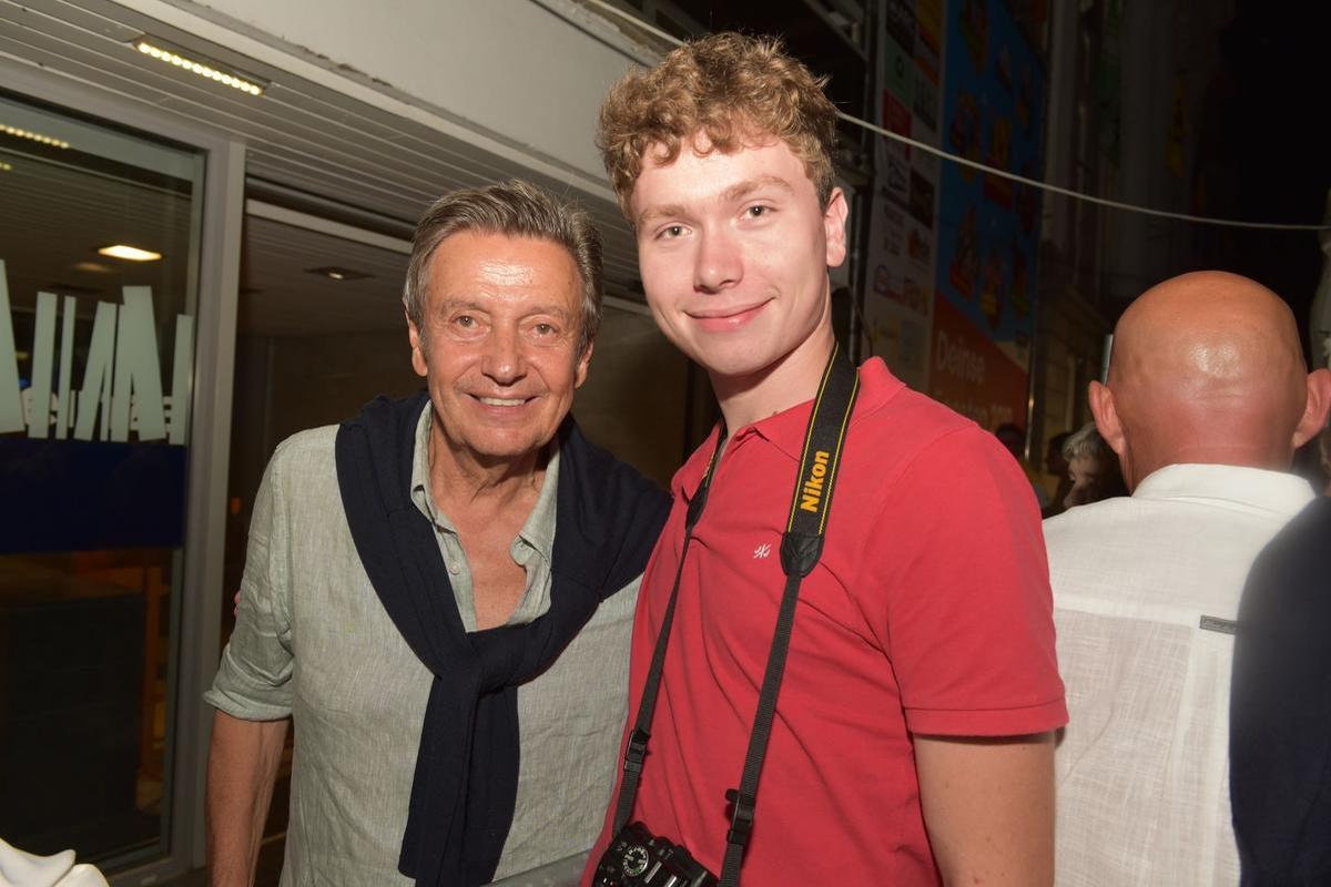 In de voorbije jaren ging hij ook al vaak naar optredens van Willy Sommers., PADI/Jens