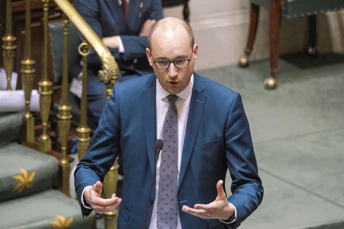 Vincent Van Peteghem, ministre des Finances (CD&V), BelgaImage