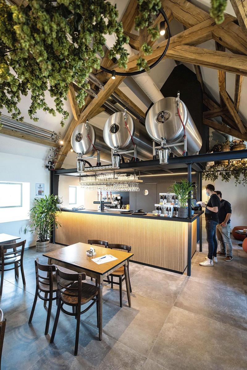 Huisbrouwerij Sint-Idesbald., FRÉDÉRIC RAEVENS