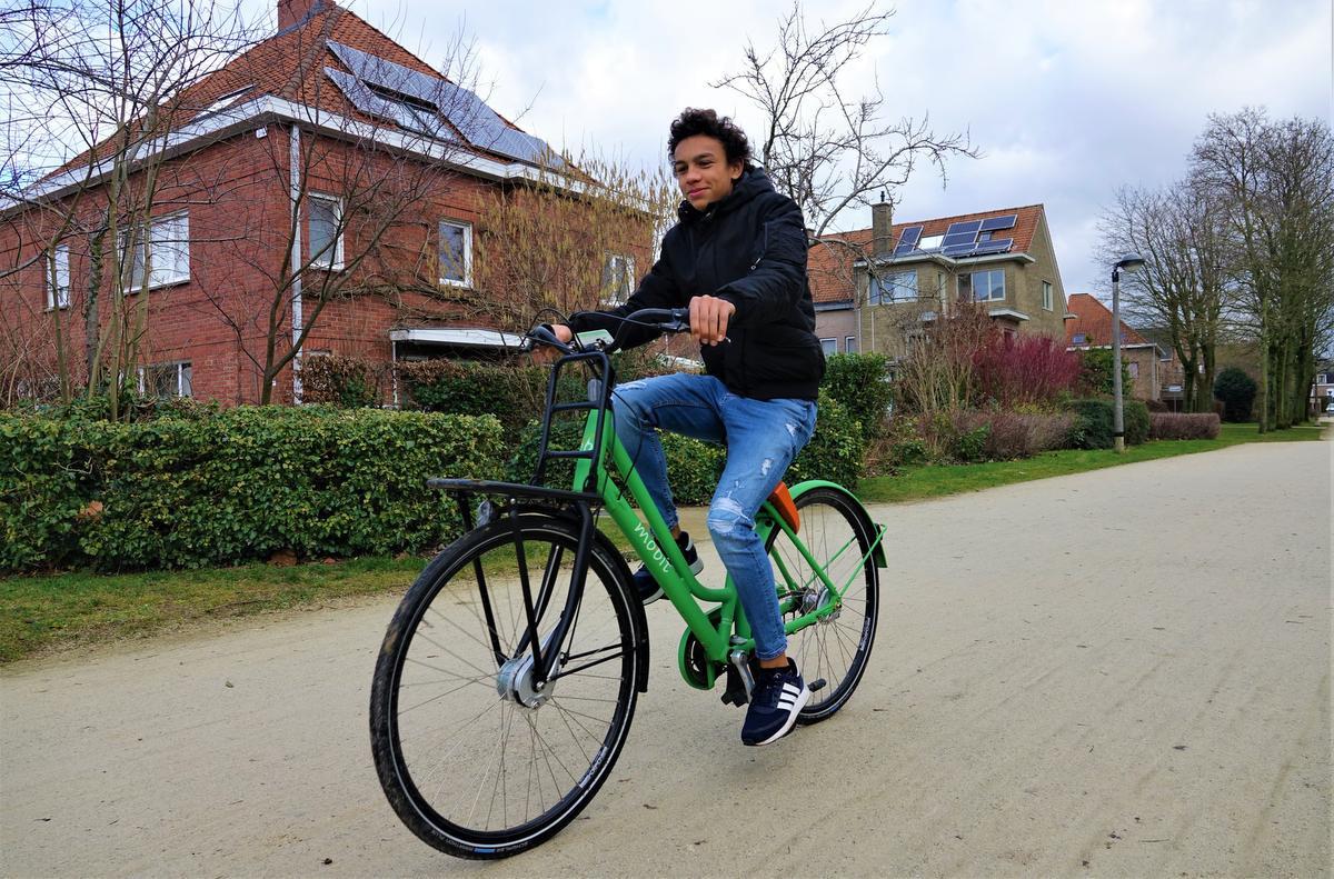 Het systeem met groene deelfietsen deed het nochtans erg goed., AN