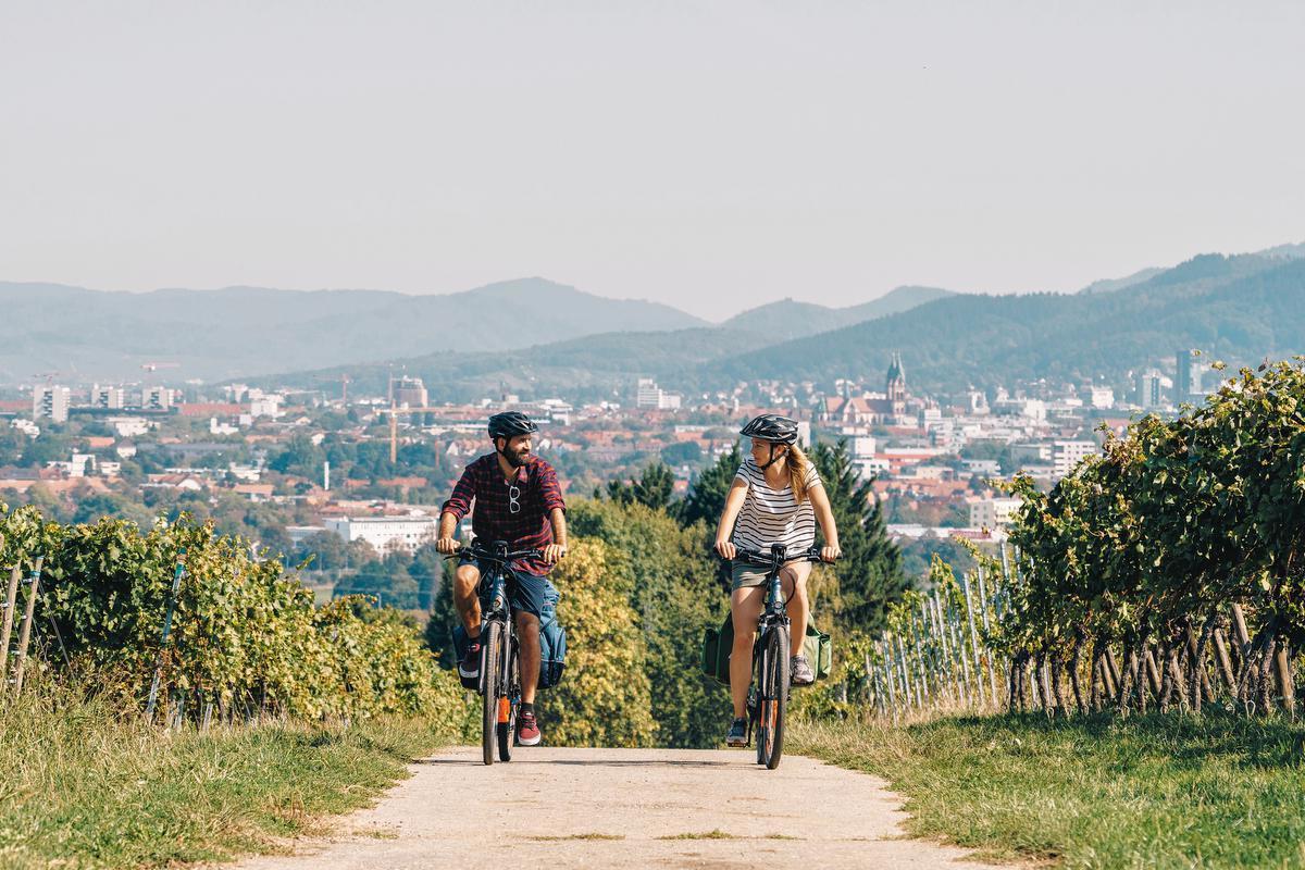 Badische Weinstrasse, une route alliant découverte de vins et vélo., Chris Keller