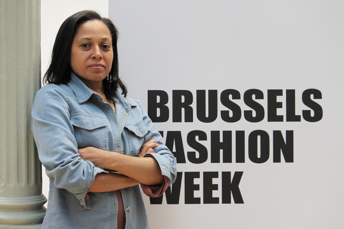 Brussel Fashion Week-oprichter Melani Jaftha-Barnes., Wim Denolf