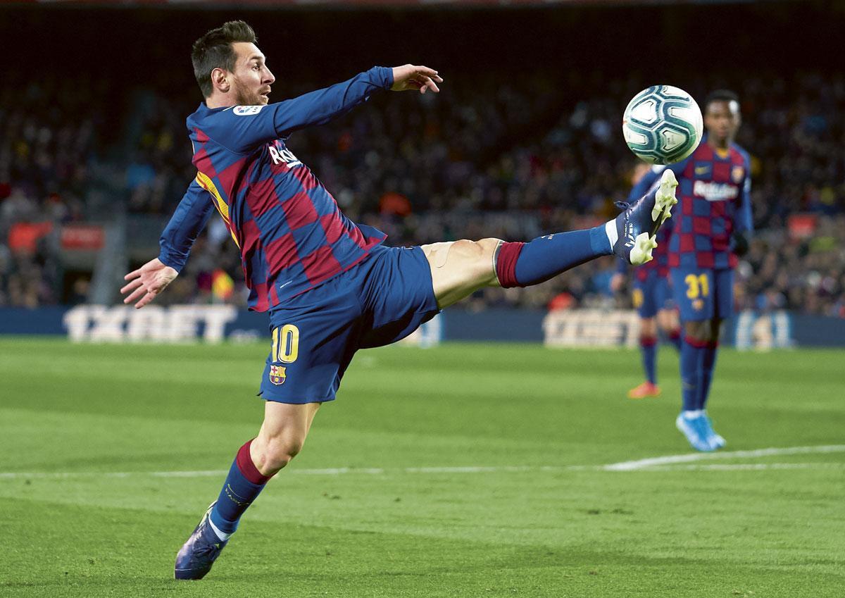 Het contract van Messi loopt nog tot juni 2021, maar hij kan deze zomer ook gratis vertrekken., getty