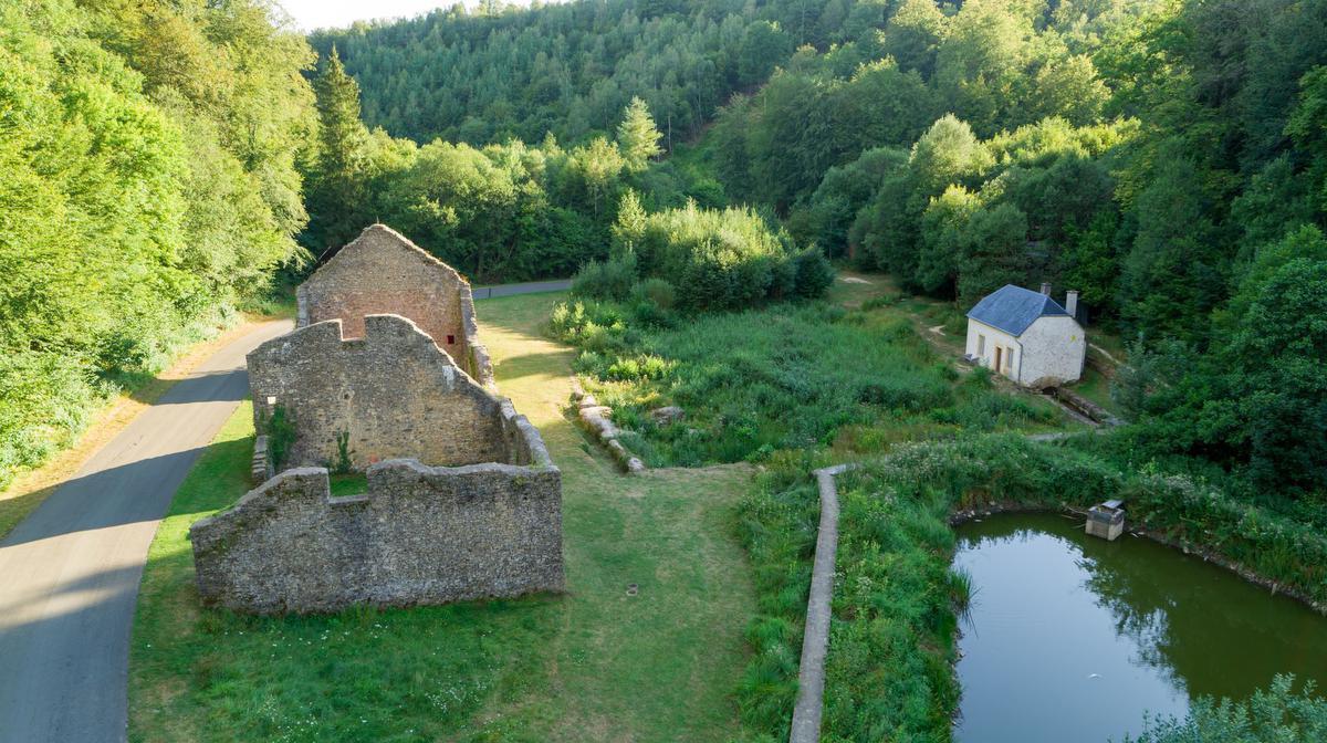 Site van Montauban, Aircapture