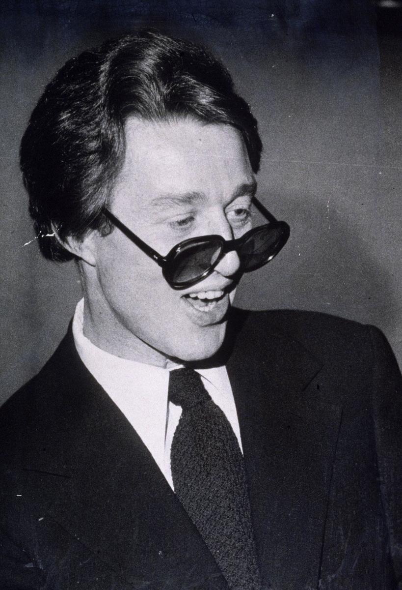 Portrait de Roy Halston en 1975, lorsque le monde de la mode était à ses pieds., GETTY IMAGES