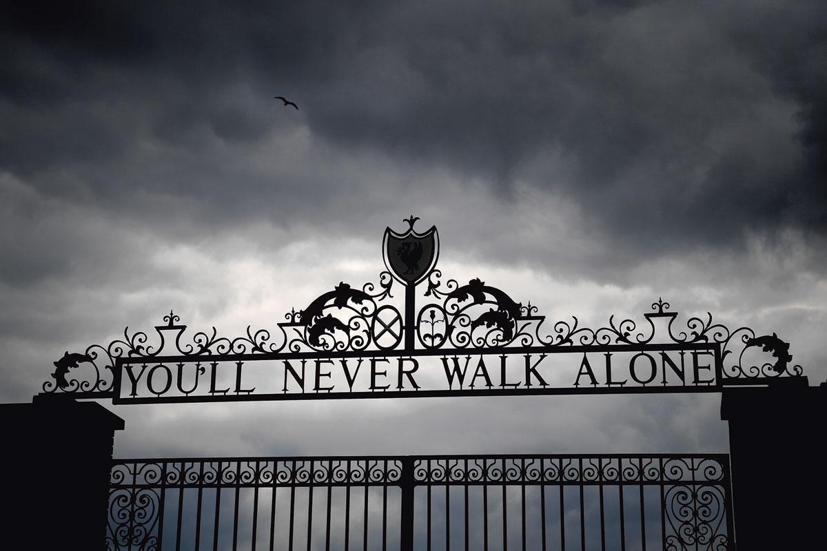 You'll never walk alone :  un hit devenu un slogan., GETTY
