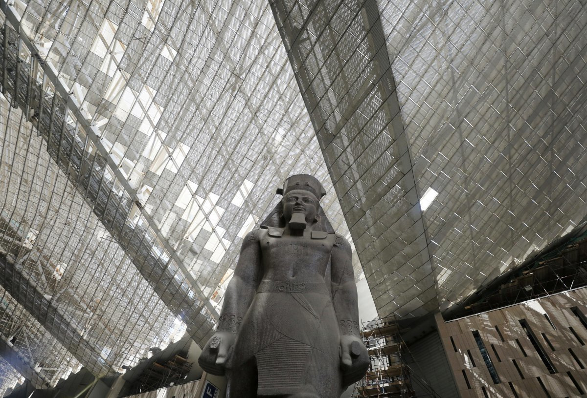 Grand Musée Egyptien, Reuters